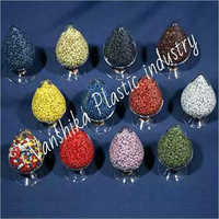 Recycled Coloured PP Granules