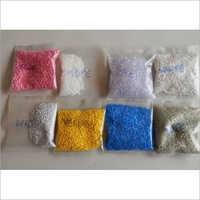 Multicolor Plastic Granules