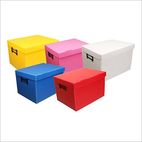 PP Corrugated Colour Box