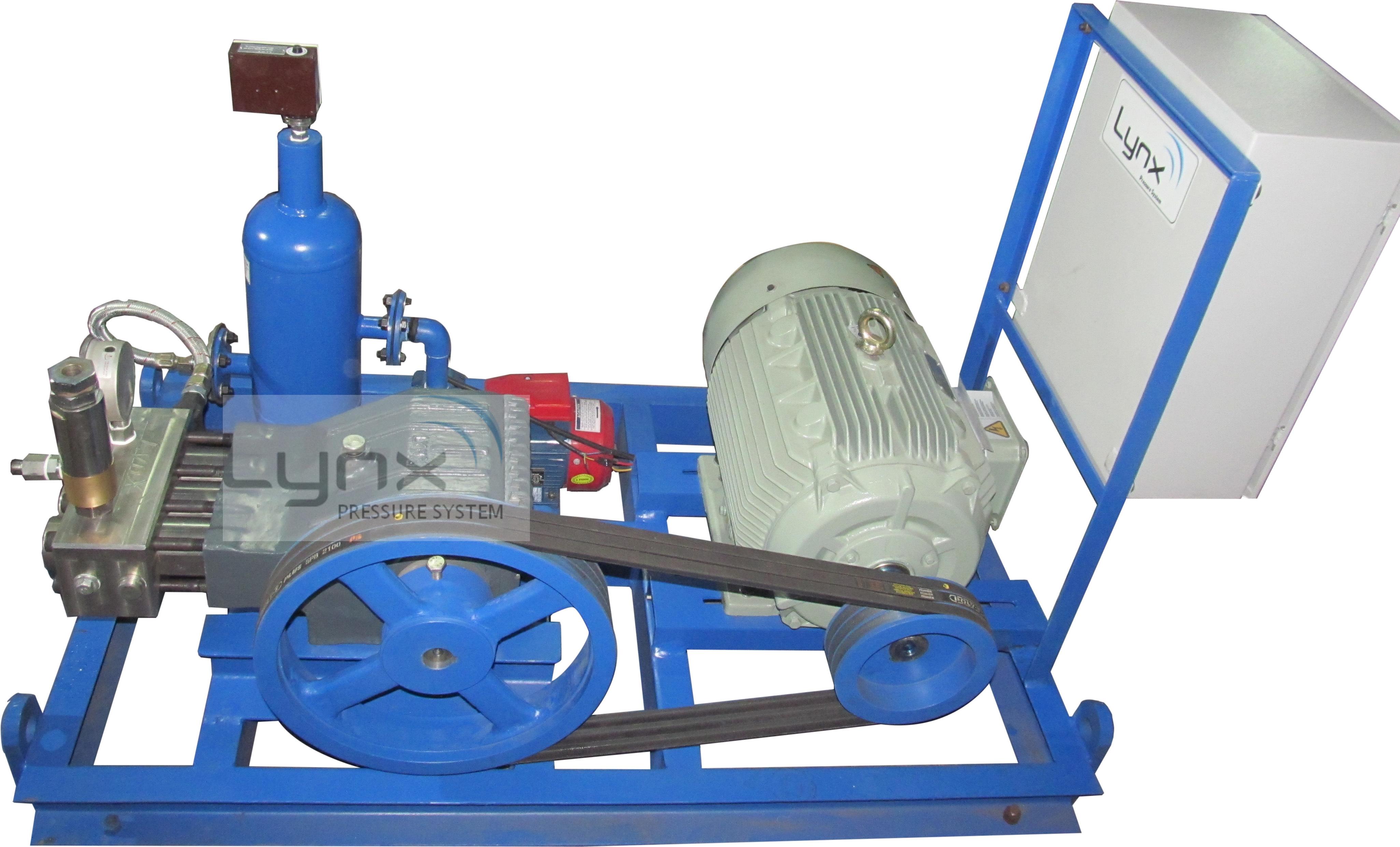 High Pressure Hydrostatic Test Pumps - 1200 BAR