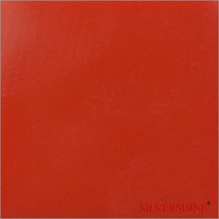 Red Silvershine Solid Surface