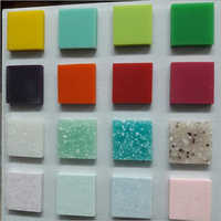 Silver Shine Solid Surface