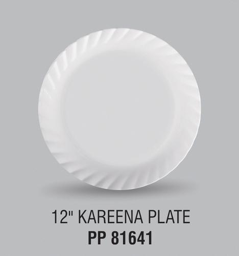 KAREENA PLASTIC FOOD GRADE DINNER PLATE 12 INCH
