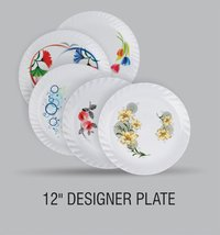 KAREENA PLASTIC FOOD GRADE DINNER PLATE 12 INCH