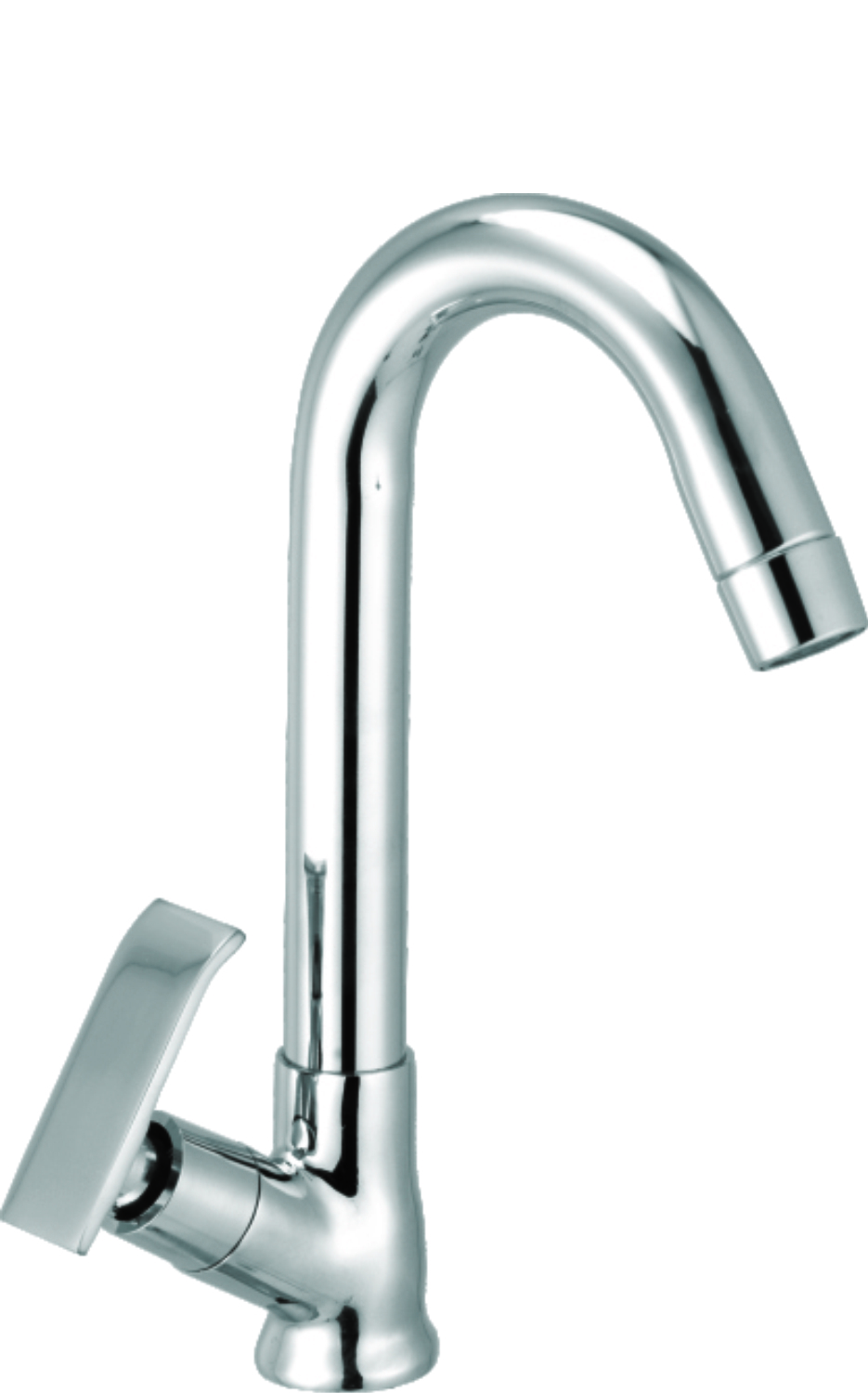 Wall Mixer With Bend