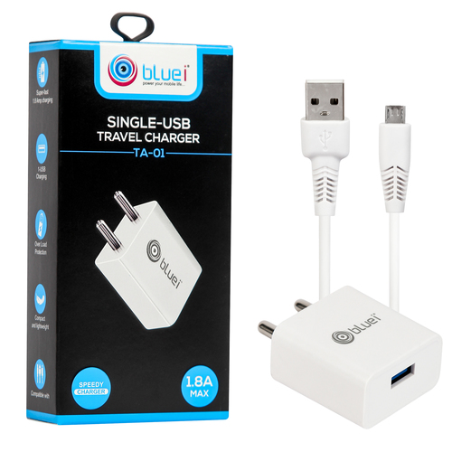 TA-01 1.8A Single USB Travel Charger