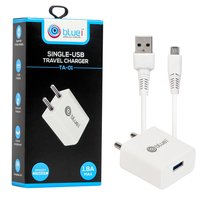 Bluei Ta-01 1.8a Single Usb Travel Charger