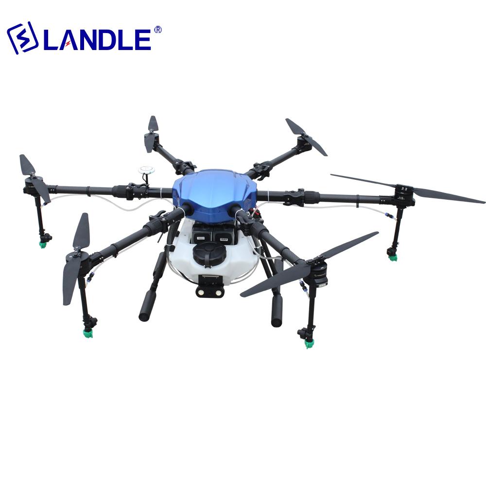 NSA610 10 UAV Agricultural Spraying Fertilizer For Drone