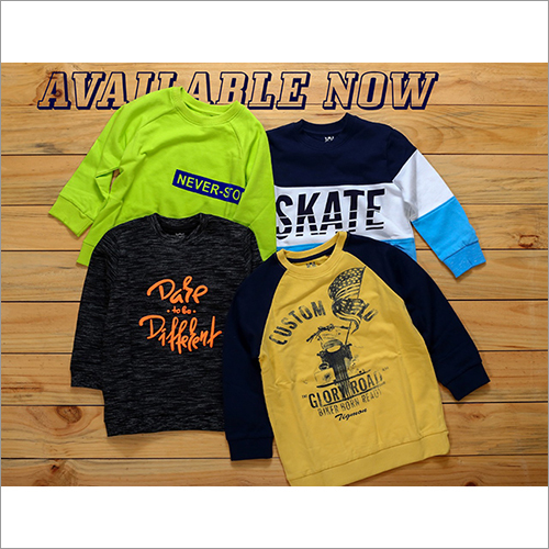 Boys Printed Sweatshirts