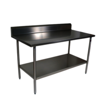 Ss Work Table With One Undershelf