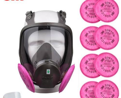 3M 2091 CN Full Reciprocative Mask