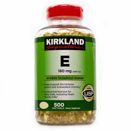 Vitamin E And C