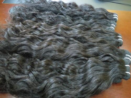 100% Raw Indian Temple Human Hair Bundle Vendor