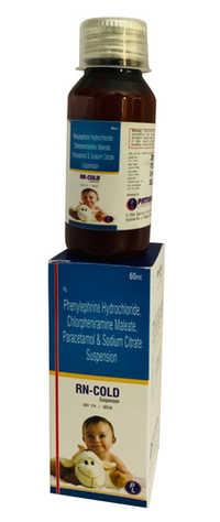 Phenylephrine Hydrochloride Chlorpheniramine Maleate Paracetamol And Sodium Citrate Suspension
