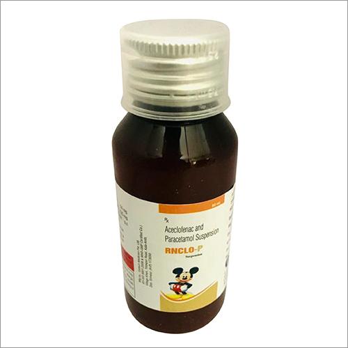 Aceclofenac And Paracetamol Suspension