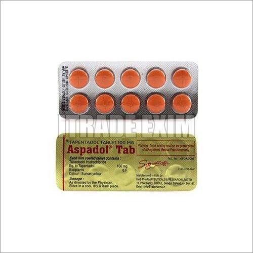 100mg Taapentadol Tablets