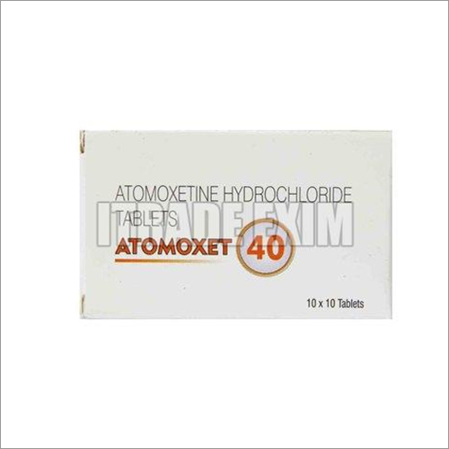 40mg Attomoxetine Hydrochloride Tablets