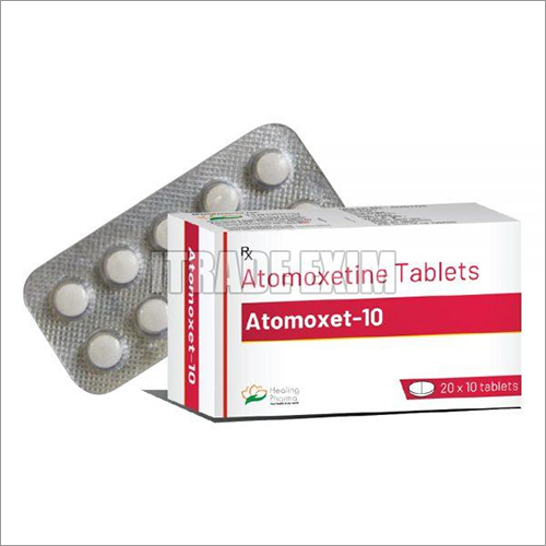 10mg Attomoxetine Tablets