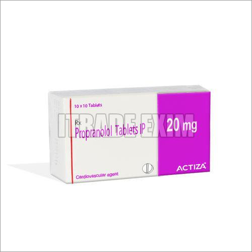 20mg Propranolol Tablets IP