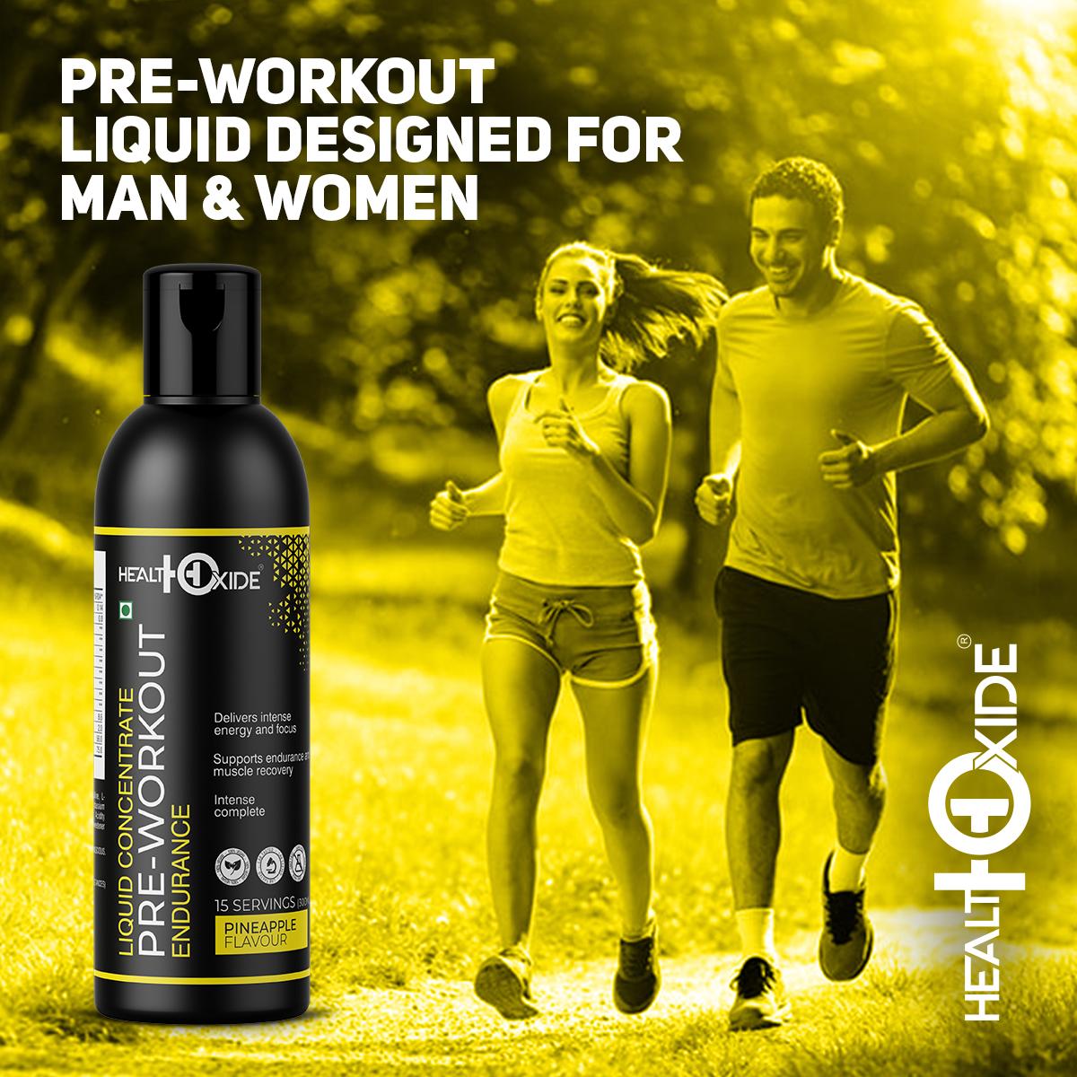 Pre-Workout Liquid