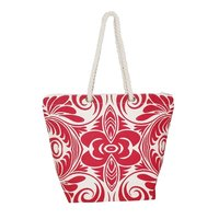 Twisted Rope Handle 12 Oz Natural Canvas Tote Bag