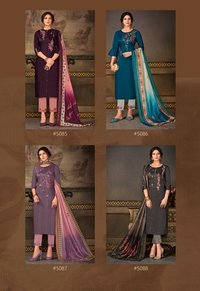 Madhubala Silk Salwar Suits Set
