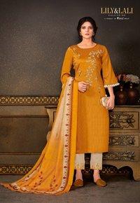 Madhubala Silk Salwar Suits Set