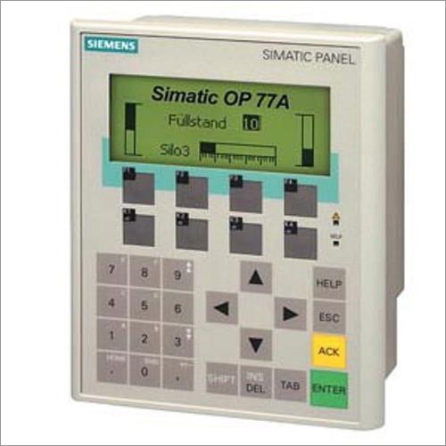 Siemens Simatic HMI Operator Panel