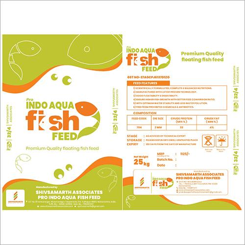 Indo Aqua Floating Fish Feed