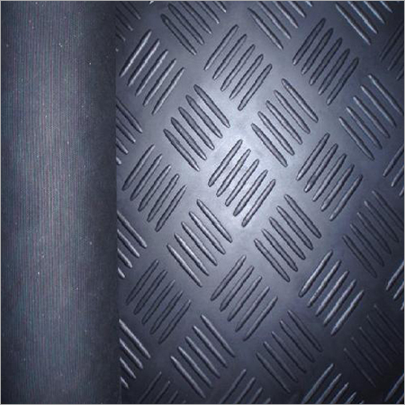 Rubber Checkered Sheet