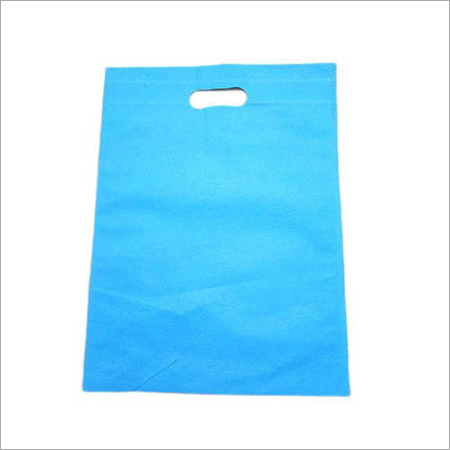 Blue D Cut Non Woven Bag