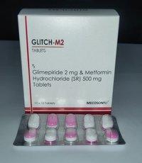 Glimepride 2 + Metformin 500 SR