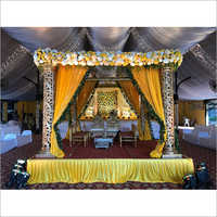 Decorative Carving Wedding Mandap