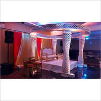 Pallazo Wedding Mandap Stage