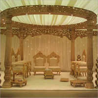 Triveni Fiber Wedding Mandap