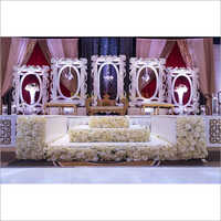 Elegant Wedding Reception Stage