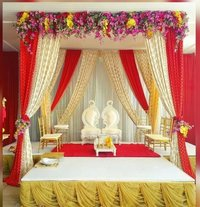 Fabric Wedding Mandap Cum Stage