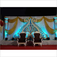 Designer Fiber Wedding Stage