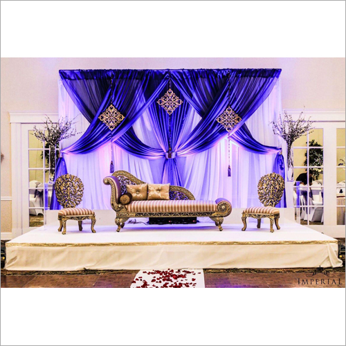 Fancy Wedding Reception Stage