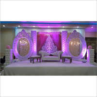 Wedding Reception Stage Setup