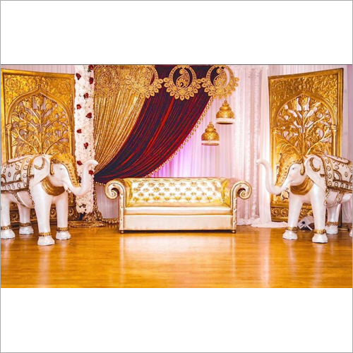 Elephant Statue Wedding Stage