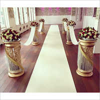 Decorative Fiber Walkway Pillars