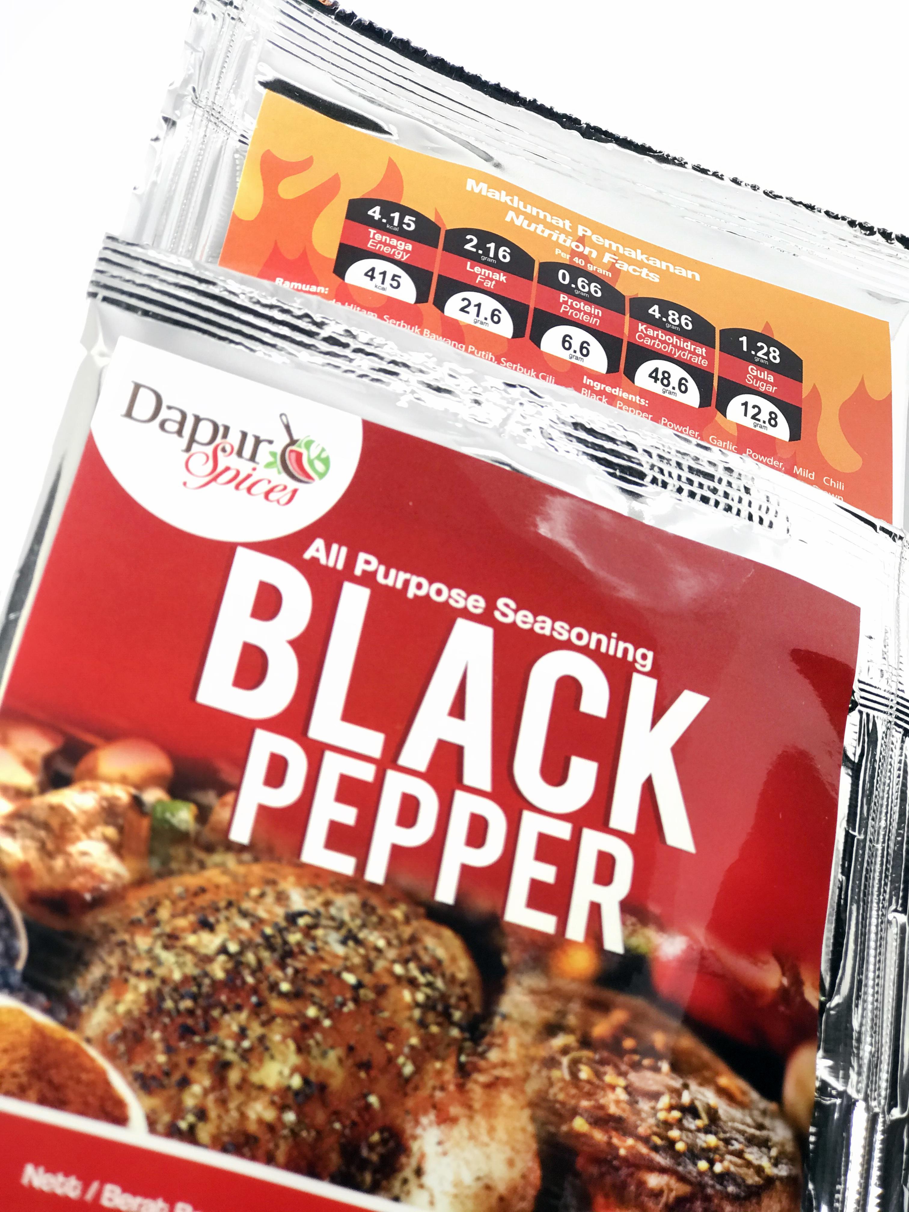 Black Pepper Seasoning Rub