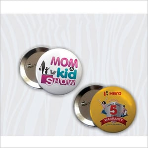 Button Badge with Pin