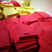 Red & Yellow Non Woven Bags