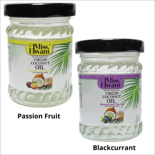 Virgin Coconut Oil Passion Fruit & Blackcurrant, 100ml