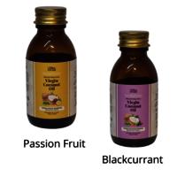 Virgin Coconut Oil Passion Fruit & Blackcurrant, 100ml
