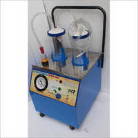 Hi-vac Suction Machine With Polycarbonate Jar