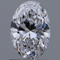 Oval Brilliant Cut 1.06ct D VS1 HPHT IGI Certified Lab Grown Diamond TYPE2 447089619