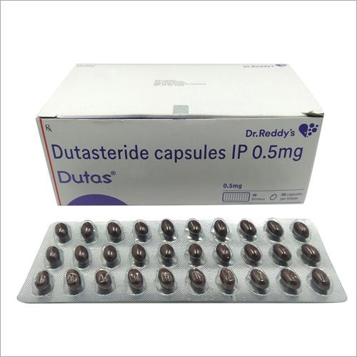 0.5 MG Dutasteride Capsules IP